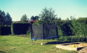 Letnisko Jantar - trampolina