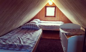 Domek nr 3 - sypialnia